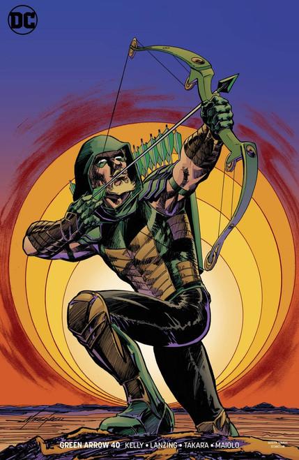 DC Green Arrow #40 Comic Book [Variant]
