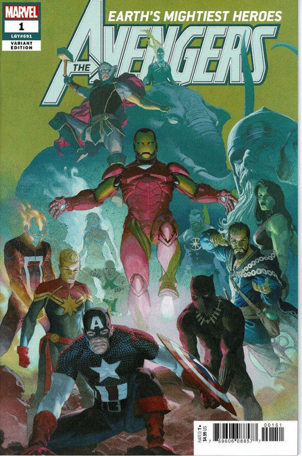 Marvel Comics Avengers #1 Comic Book [Esad Ribic Varian]