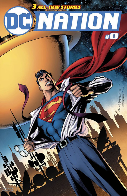DC Nation #0 Comic Book [Superman Variant]