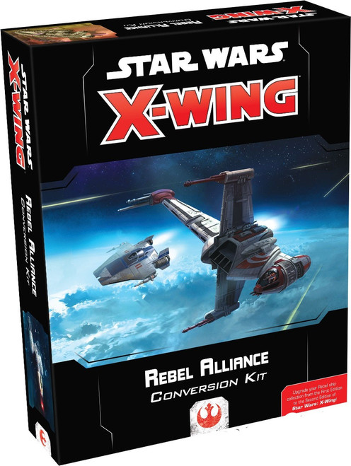 Star Wars X-Wing Miniatures Game Rebel Alliance Conversion Kit [2nd Edition]