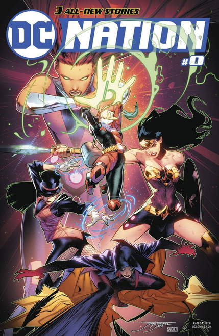DC Nation #0 Comic Book [Justice League of America Variant]
