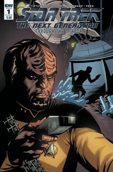 IDW Star Trek The Next Generation #1 Through the Mirror Comic Book [Chris Johnson Variant]