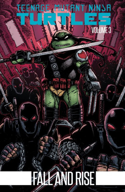 IDW Teenage Mutant Ninja Turtles Fall and Rise Soft Cover Trade Paperback Comic Book Volume 3