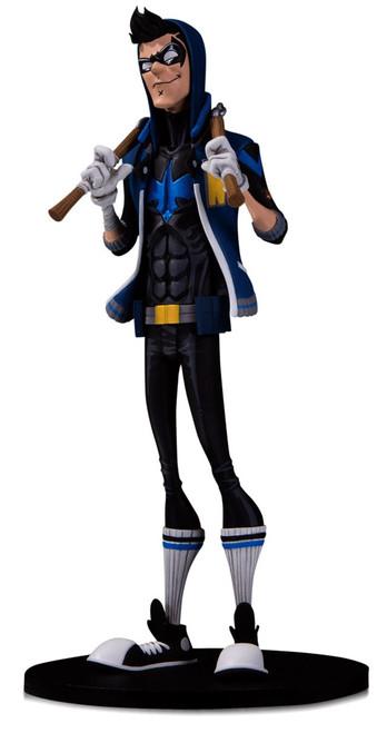 DC Artist Alley Nightwing PVC Collector Statue [Hainanu Nooligan Saulique]