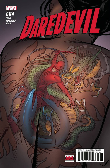 Marvel Daredevil #604 Comic Book