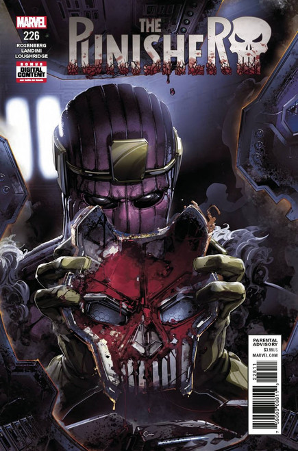 Marvel The Punisher #226 Comic Book