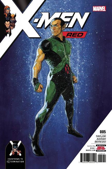 Marvel Comics X-Men Red #5 Comic Book