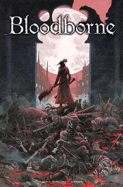 Titan Comics Bloodborne Death of Sleep Trade Paperback #1