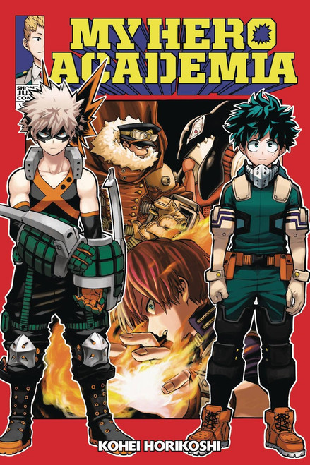 My Hero Academia Volume 13 Manga Trade Paperback
