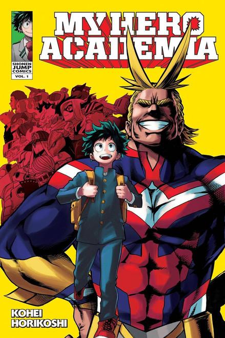 My Hero Academia Volume 1 Manga Trade Paperback