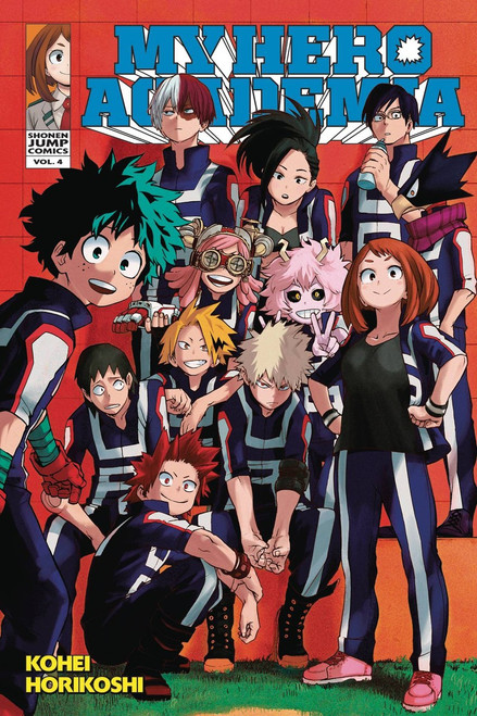 My Hero Academia Volume 4 Manga Trade Paperback