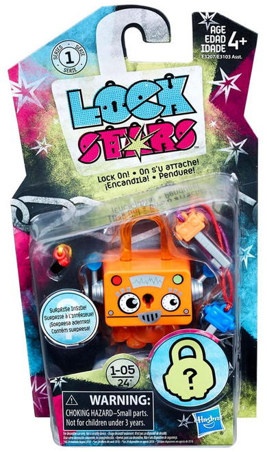 Lock Stars Orange Robot Figure