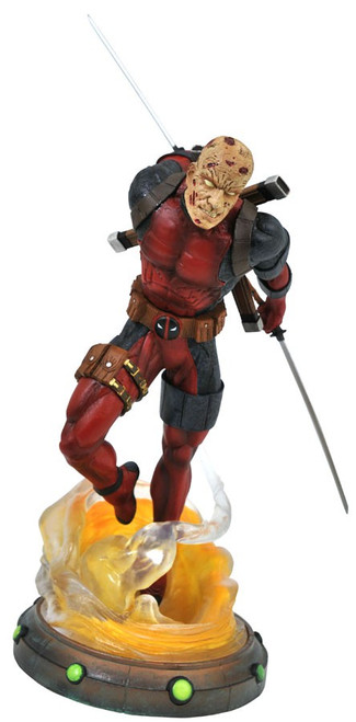 Marvel Gallery Deadpool Exclusive 9-Inch PVC Figure Statue [Unmasked]