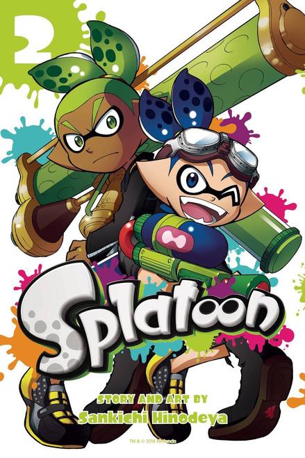 Splatoon Volume 2 Manga Trade Paperback