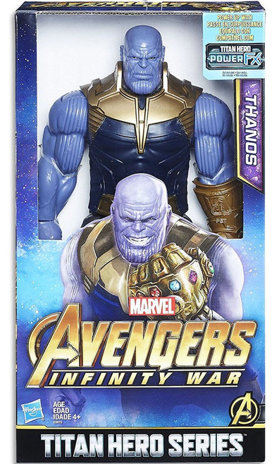 Marvel Avengers Infinity War Titan Hero Series Thanos Action Figure [with Power FX Port]