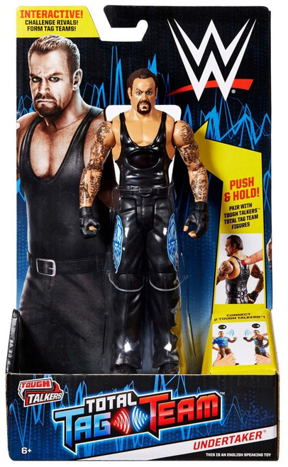 WWE Wrestling Tough Talkers Total Tag Team Undertaker Action Figure