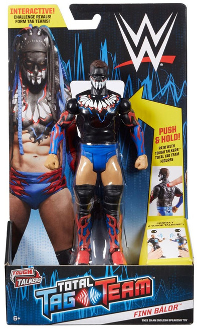 WWE Wrestling Tough Talkers Total Tag Team Finn Balor Action Figure