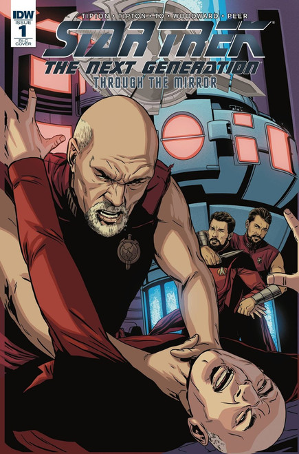 IDW Star Trek The Next Generation #1 Through the Mirror Comic Book [Incentive Marc Laming Variant]