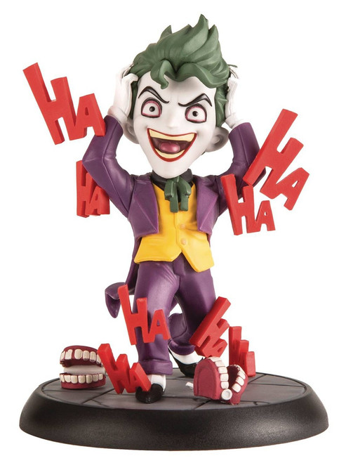 DC Q-Fig Max Toons The Joker 4-Inch Figure [Killing Joke]