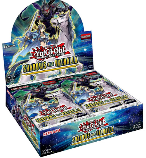 YuGiOh Trading Card Game Shadows Over Valhalla Booster Box [24 Packs]