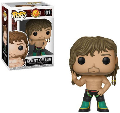 Funko Bullet Club POP! Kenny Omega Vinyl Figure #01