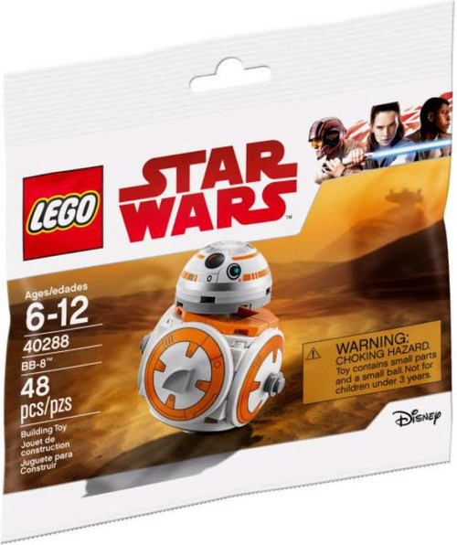 LEGO Star Wars BB-8 Mini Set #40288 [Bagged]