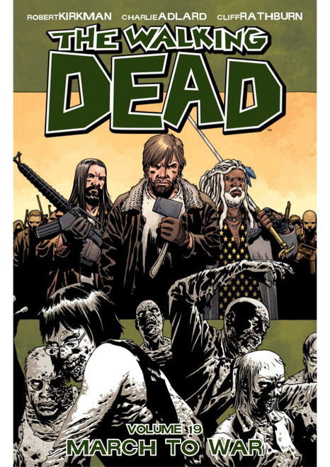 Image Comics The Walking Dead Volume 19 Trade Paperback [March to War]