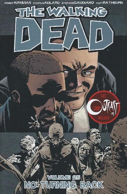 Image Comics The Walking Dead Volume 25 Trade Paperback [No Turning Back]