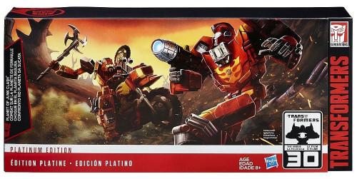 Transformers Generations Planet of Junk Clash Action Figure 3-Pack [Platinum Edition]