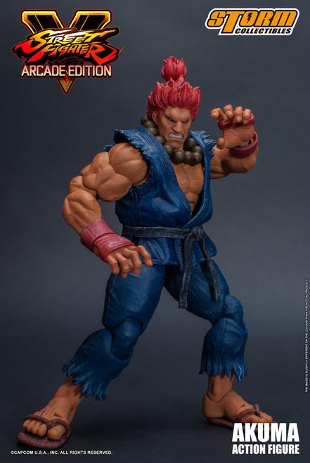 Street Fighter V Akuma Action Figure [Nostalgia Costume]