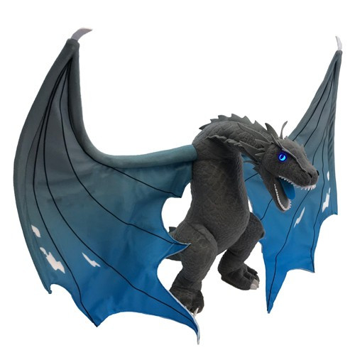 Game of Thrones Icy Viserion Dragon Jumbo Plush [2 Foot Wingspan!]