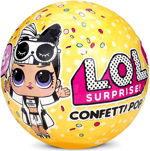 LOL Surprise Series 3 Confetti Pop Big Sister Mystery Pack [Wave 2, Black & White Robe]