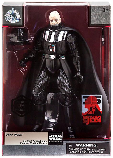 Disney Star Wars Return of the Jedi Elite Series Darth Vader Exclusive 6-Inch Diecast Figure [35th Anniversary Edition]