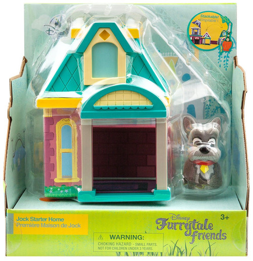 Disney Lady & The Tramp Furrytale Friends Jock Starter Home Exclusive Playset