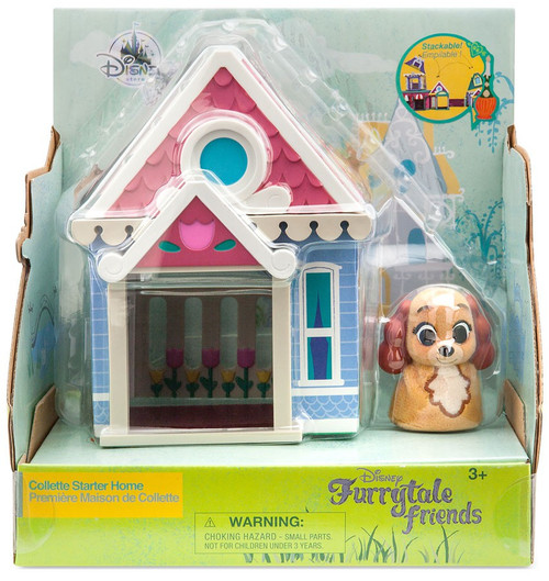 Disney Lady & The Tramp Furrytale Friends Collette Starter Home Exclusive Playset