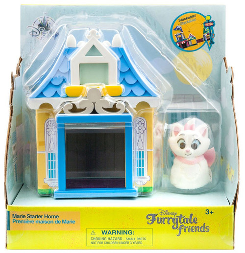 Disney Aristocats Furrytale Friends Marie Starter Home Exclusive Playset