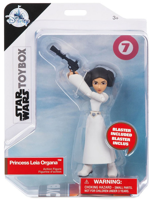 Disney Star Wars Toybox Princess Leia Organa Exclusive Action Figure
