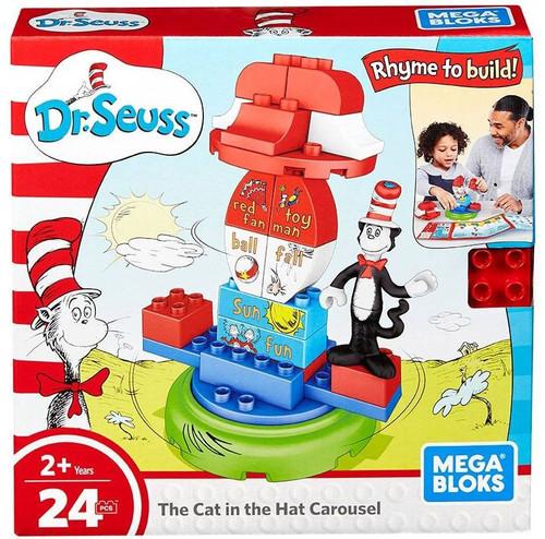 Mega Bloks Dr. Seuss The Cat in the Hat Carousel Set FNJ69