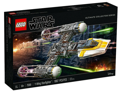LEGO Star Wars Ultimate Collector Series Y-Wing Starfighter Set #75181