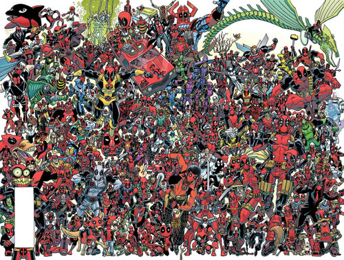 Marvel Comics Despicable Deadpool #300 Comic Book [300 Deadpools Wraparound Cover]