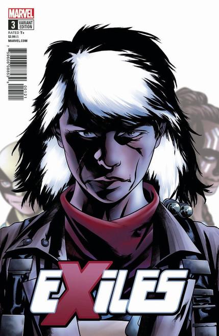Marvel Comics Exiles McKone Character Variant Comic Book