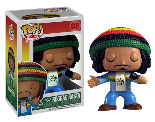 Funko POP! Rocks Reggae Rasta (Bob Marley) Vinyl Figure #08 [Damaged Package]