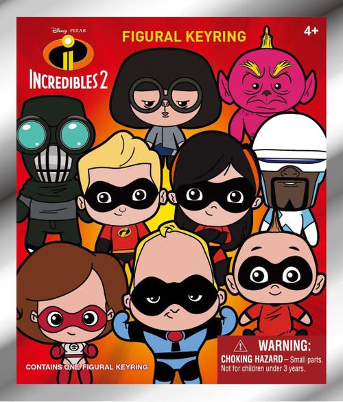 Disney / Pixar 3D Figural Keyring Disney Series 16 Incredibles 2 Mystery Pack