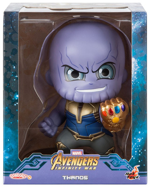 Marvel Avengers Infinity War Cosbaby Thanos 4-Inch Bobble Head