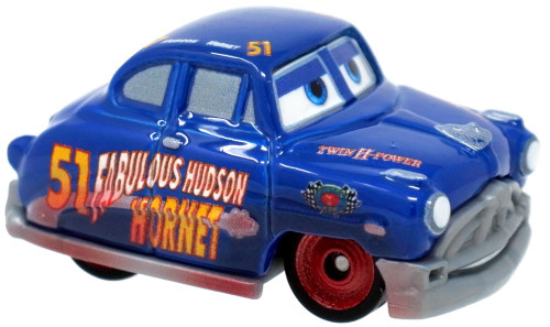 Disney Cars Die Cast Mini Racers Fabulous Hudson Hornet Car [Regular Version Loose]