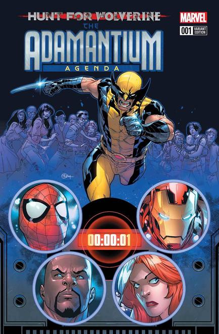 Marvel Comics Hunt for Wolverine #1 Adamantium Agenda Comic Book [Silva Variant]