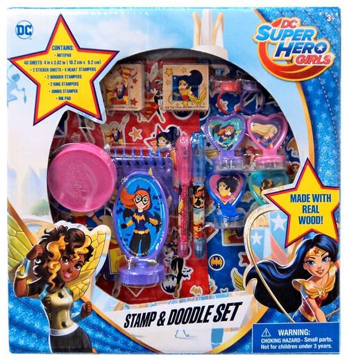 DC Super Hero Girls Stamp & Doodle Set