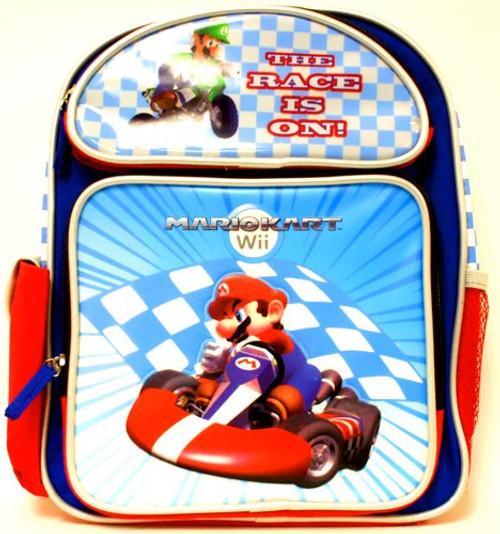 Nintendo Mario Kart Wii The Race Is On Backpack