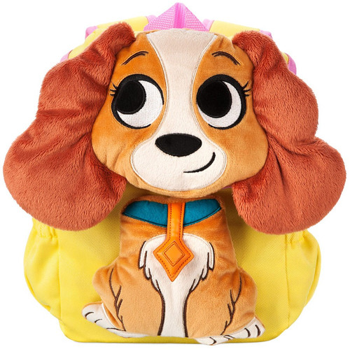 Disney Lady & The Tramp Furrytale Friends lady Exclusive Plush Backpack