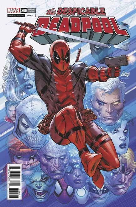 Marvel Comics Despicable Deadpool #300 Comic Book [Rob Liefeld Variant]